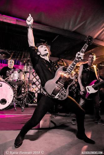 Alex Cole Rocks Tony Currenti AC/DC