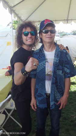 With Peter Chen (The Comedy Store)