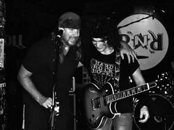 With Kenny Rhino Earl (Manowar)