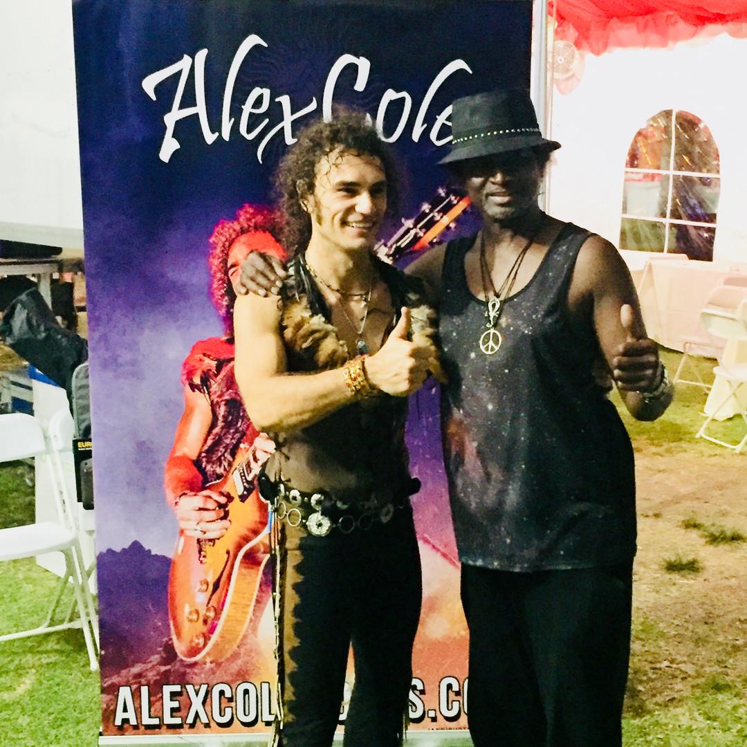 Alex Cole Rocks Lotus Festival Los Angeles Robin Russell