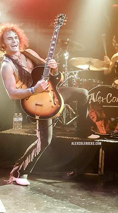 Alex Cole Rocks Vamp'd Las Vegas