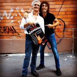 With Danilo Vizzini