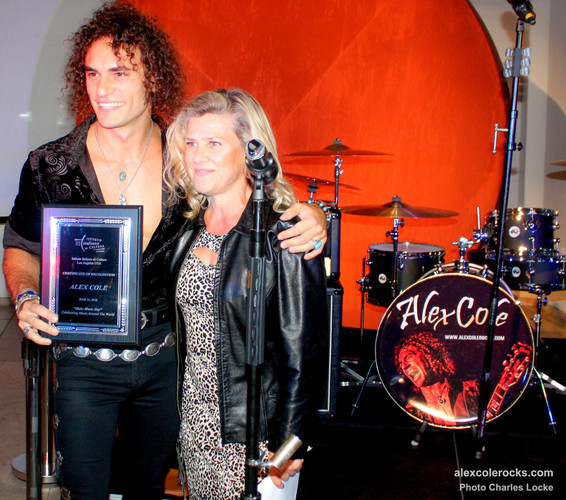 Alex Cole With IIC Director Valeria Rumori.jpg