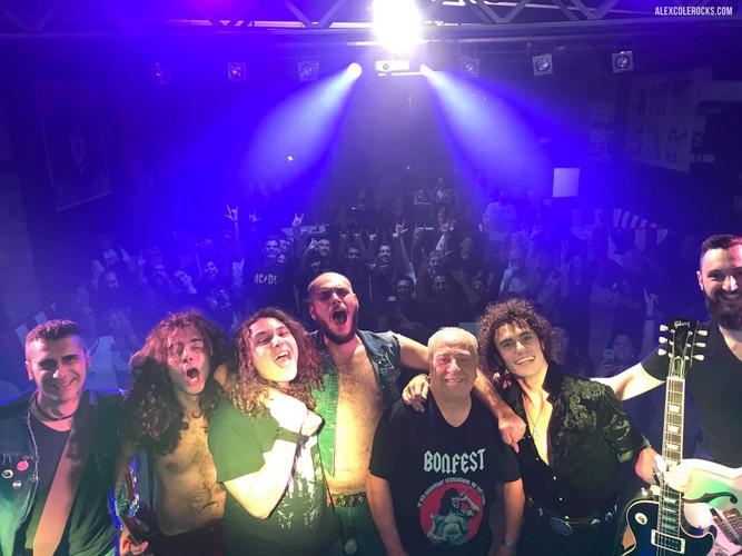 Alex Cole Rocks Tony Currenti Overdose74 AC/DC