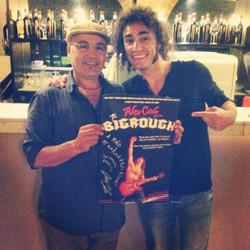 With Mino Masseria Zanzara