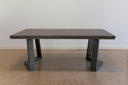 'Gun Metal Grey' Concrete Table