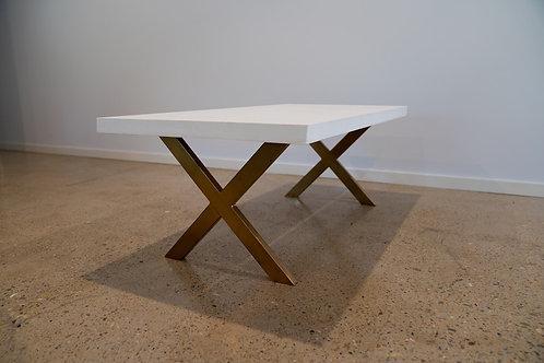 'Natural White' Concrete Table