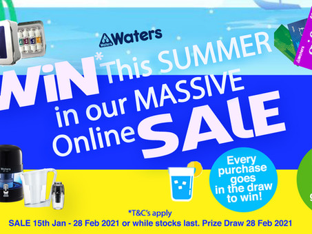 Congratulations to the Winner of our Summer sale and Win competition