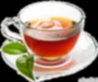 Alkaline water taste in tea