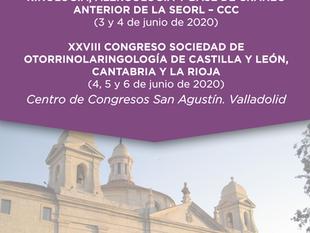 XXVII Congreso SORL CLCR VALLADOLID 2020 4,5 Y 6 de junio