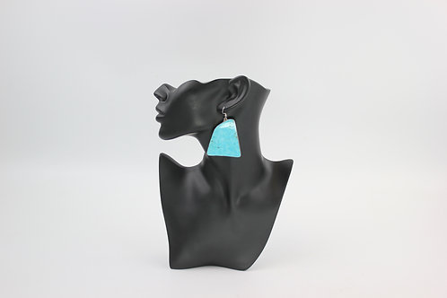 Large Turquoise Sterling Silver