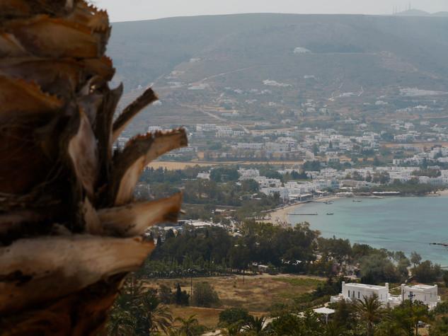 Paros - View over Parikia