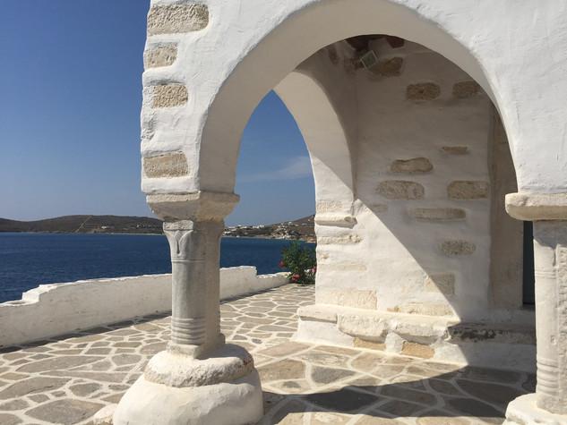 Parikia Church View