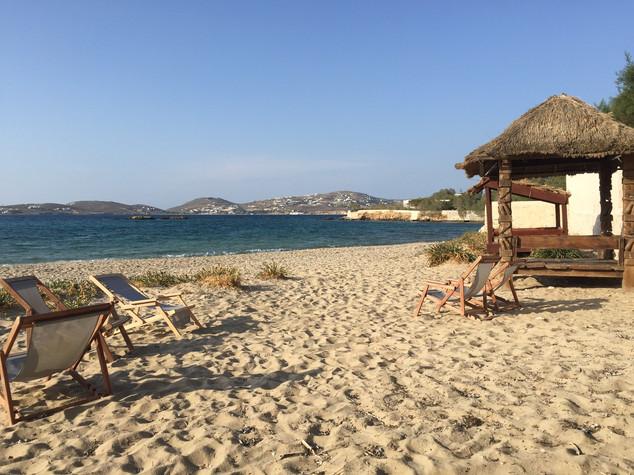Beach on Paros