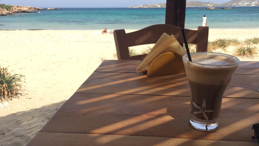 Magaya Beach. Best coffee