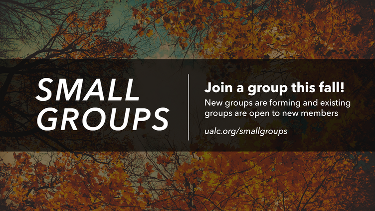 Small Groups Fall 2021