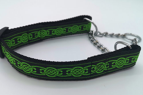Martingale Dog Collar, Half Check