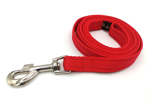 6ft Dog Leash/Lead in 3/4 inch (19mm) Cushion Webbing, Several Colours, Washable