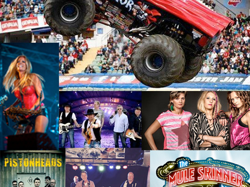 Årets artister under Rallycross-helgen