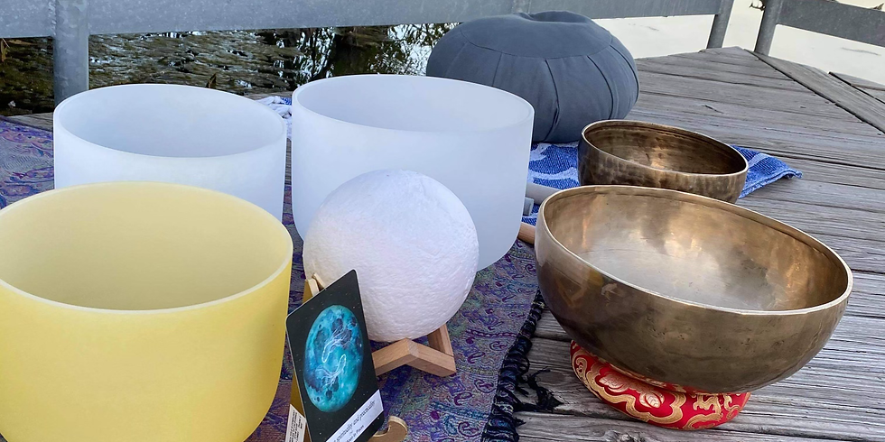 Out door Zen Yoga with Sound Bath and Wine