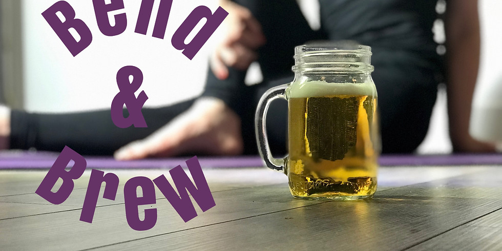 Bend & Brew Yoga Class  SOLD OUT