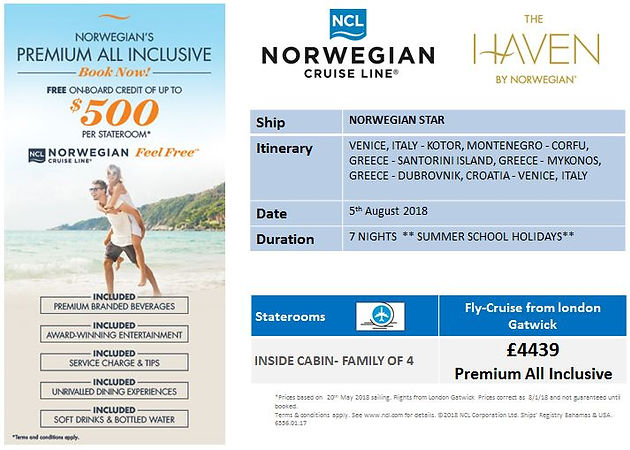 LET THE SUNSHINE ROLL THIS SUMMER WITH NCL | Cruise Travel