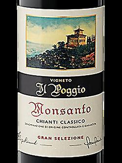 Pre-Sale; 2015 Monsanto Chianti Classico Gran Selezione Il Poggio