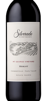 "Silverado ""Mt George Vineyard""Coombsville/Napa Valley Estate Grown Merlot"