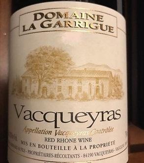 2018 Domaine La Garrigue Vacqueyras