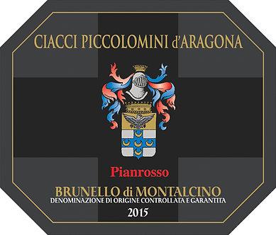 """2015 Ciacci Piccolomini d'Aragona """"Pianrosso"""" Brunello di Montalcino"""