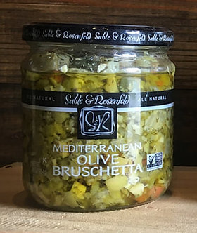 Sable and Rosenfeld Mediterranean Olive Bruschetta, 16 Ounce