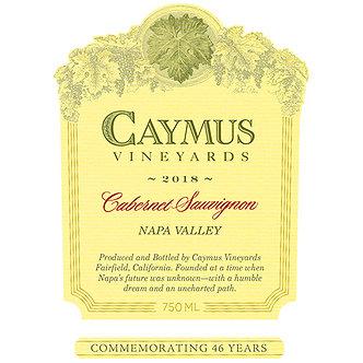 2018 Caymus Vineyards Napa Valley-Cabernet Sauvignon