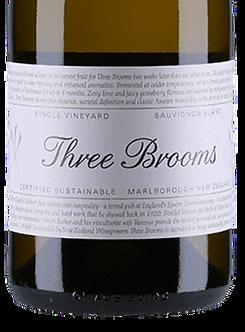 2019 Three Brooms Sauvignon Blanc, Marlborough New Zealand