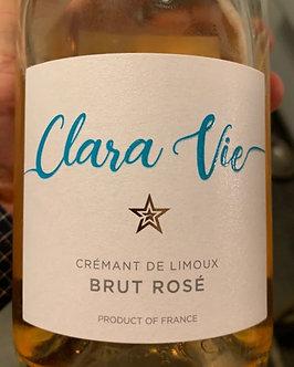 Clara Vie Brut Rosé Sparkling Wine