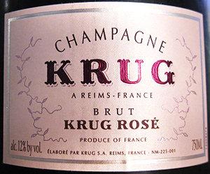 NV Krug Brut Rose
