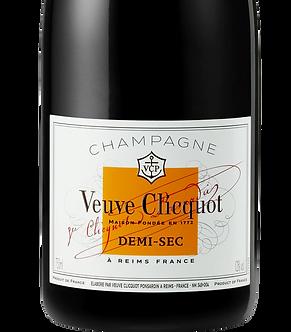375ml/Half Bottle: Veuve Clicquot Demi-Sec Champagne