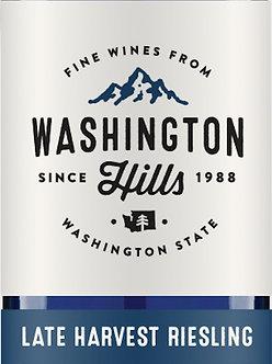 2018 Washington Hills Winery Late Harvest Riesling