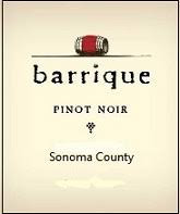 2017 Barrique Pinot Noir Sonoma County