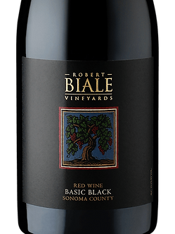 "Robert Biale Vineyards ""Basic Black"" Red blend"