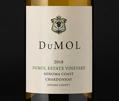 PRE-SALE: 2018 DuMOL Estate Vineyard Sonoma Coast Chardonnay