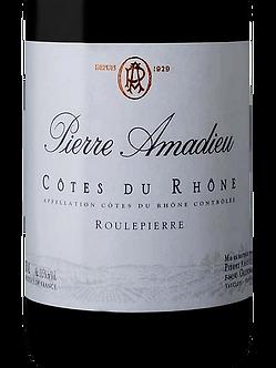 Pierre Amadieu Cotes du Rhone Rouge