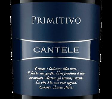 2016 Cantele Primitivo from Salento, Puglia
