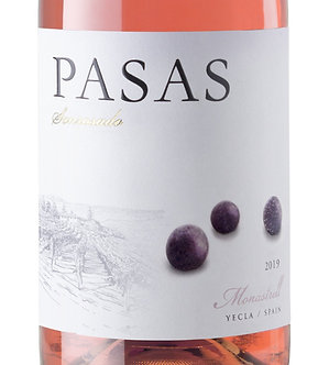 2019 Pasas Rosé: Arriving Friday 10/2/20