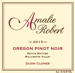 "Amalie Robert ""Dijon Clones"" Estate Bottled Willamette Valley Pinot Noir"