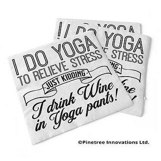 I Do Yoga To Relieve Stress