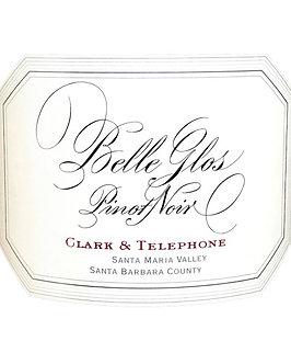 1.5 Liter 2017 Belle Glos Pinot Noir Clark & Telephone