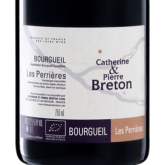 2012 Catherine & Pierre Breton Bourgueil Les Perrieres Cabernet Franc