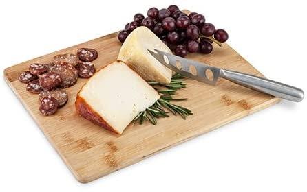 True Appetize Bamboo Board & Knife Set