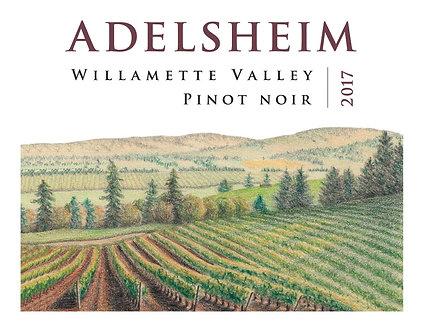 375ml HALF Bottle - 2017 Adelsheim Pinot Noir