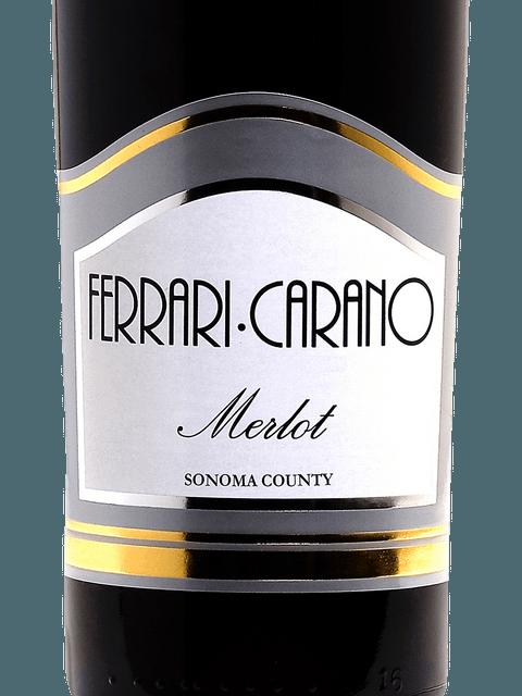 Ferrari Carano Sonoma County Merlot Vintage Wine Shoppe